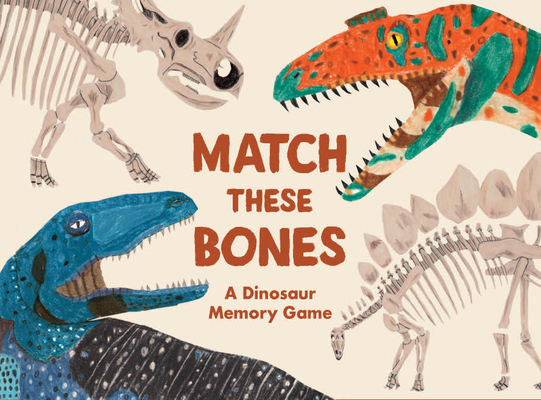 Match these Bones: A Dinosaur Memory Game Cover Image