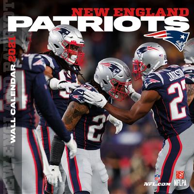 New England Patriots 2021 12x12 Team Wall Calendar Cover Image