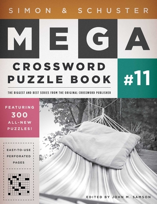 Simon & Schuster Mega Crossword Puzzle Book #11 (S&S Mega Crossword Puzzles #11) Cover Image