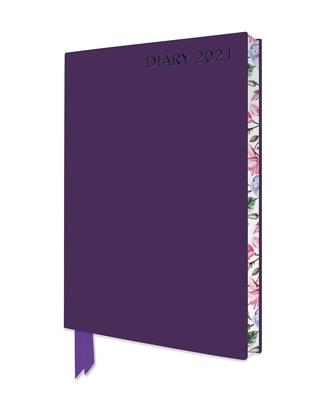 Purple Artisan A6 Diary 2021 Cover Image