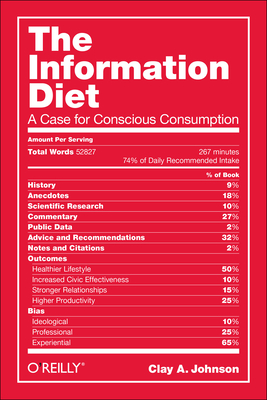 Cover for The Information Diet