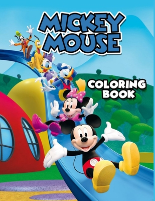 Mickey Mouse Coloring Book: Mickey Mouse Christmas Coloring Book. 20 Pageg - 8.5