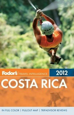 Fodor's Costa Rica 2012 Cover