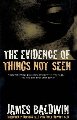 The Evidence of Things Not Seen: Reissued Edition Cover Image
