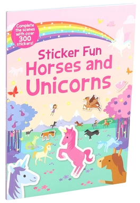 Sticker Fun Horses and Unicorns Cover Image