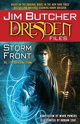 The Dresden Files Storm Front, Volume One Cover