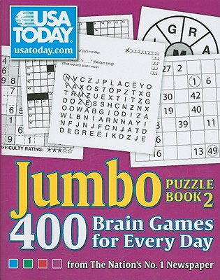 USA TODAY Jumbo Puzzle Book 2: 400 Brain Games for Every Day (USA Today Puzzles #11) Cover Image