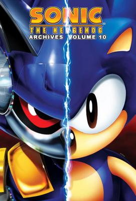 Sonic the Hedgehog Archives, Volume 10 Cover