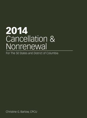 2014 Cancellation and Nonrenewal Cover Image
