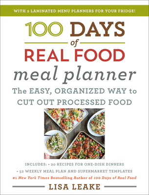 100 Days of Real Food Meal Planner Cover Image