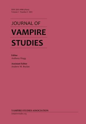 Journal of Vampire Studies: Vol. 1, No. 2 (2021) Cover Image