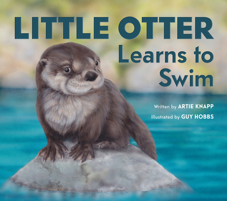 Cover for Little Otter Learns To Swim