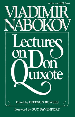 Lectures on Don Quixote Cover