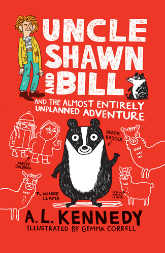 Uncle Shawn and Bill and the Almost Entirely Unplanned Adventure Cover Image