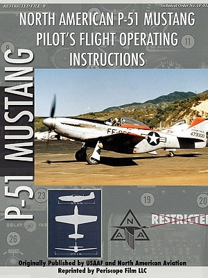 P-51 Mustang Pilot's Flight Manual Cover Image