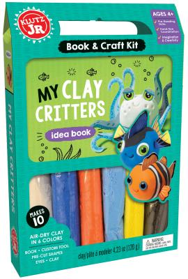 My Clay Critters (Klutz Jr.) Cover Image