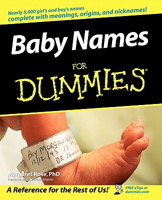 Baby Names for Dummies Cover Image