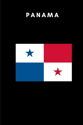 Panama: Country Flag A5 Notebook to write in with 120 pages Cover Image