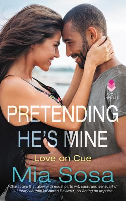 Pretending He's Mine (Love on Cue #2) Cover Image