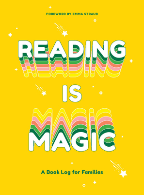 Reading Is Magic: A Book Log for Families Cover Image
