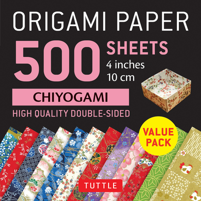 Origami Paper 500 Sheets Chiyogami Patterns 4