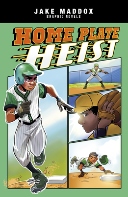 Home Plate Heist (Jake Maddox Graphic Novels) Cover Image