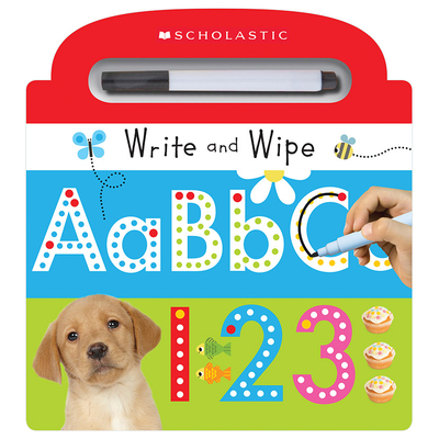 Write and Wipe ABC 123: Scholastic Early Learners (Write and Wipe) Cover Image