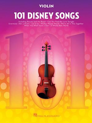 101 Disney Songs: For Violin Cover Image