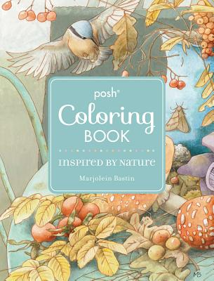 Posh Adult Coloring Book: Inspired by Nature (Posh Coloring Books) Cover Image