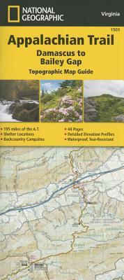 Appalachian Trail, Damascus to Bailey Gap [Virginia] Cover Image