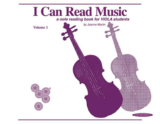 I Can Read Music, Vol 1: Viola Cover Image