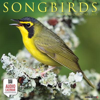 Songbirds 2021 Wall Calendar Cover Image