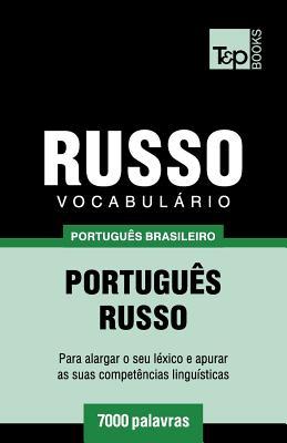Vocabulário Português Brasileiro-Russo - 7000 palavras Cover Image