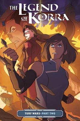 The Legend of Korra Turf Wars Part Two Cover Image