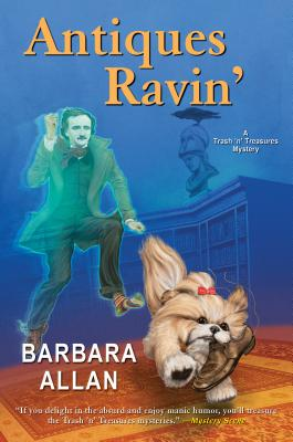 Cover for Antiques Ravin' (A Trash 'n' Treasures Mystery #13)