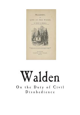 Walden: On the Duty of Civil Disobedience Cover Image