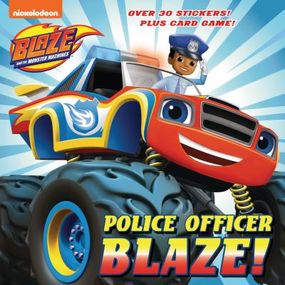 Police Officer Blaze! (Blaze and the Monster Machines) (Pictureback(R)) Cover Image