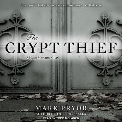 The Crypt Thief: A Hugo Marston Novel Cover Image