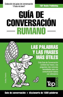 Guía de Conversación Español-Rumano y diccionario conciso de 1500 palabras Cover Image