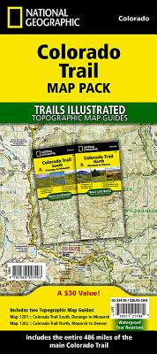 Colorado Trail [map Pack Bundle] (National Geographic Trails Illustrated Map) Cover Image