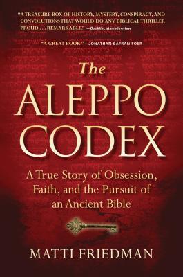 The Aleppo Codex Cover