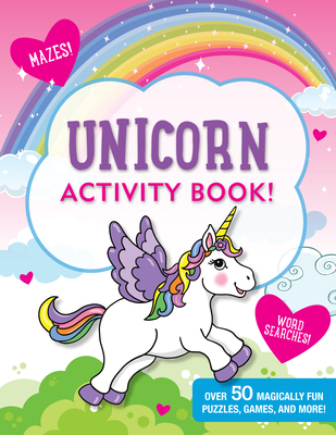 Unicorns Activity Book Cover Image