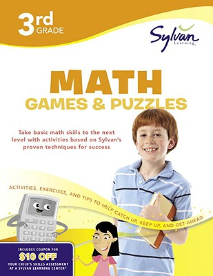 3rd Grade Math Games & Puzzles Cover