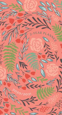 Coral Floral 2020/2021 Planner: 2-Year Pocket Planner Cover Image