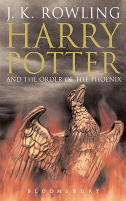 Harry Potter and the Order of the Phoenix. J.K. Rowling Cover Image