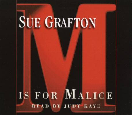 M Is for Malice Cover