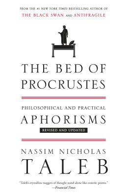 The Bed of Procrustes: Philosophical and Practical Aphorisms (Incerto #4) Cover Image