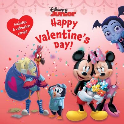 Disney Junior Happy Valentine's Day! Cover Image
