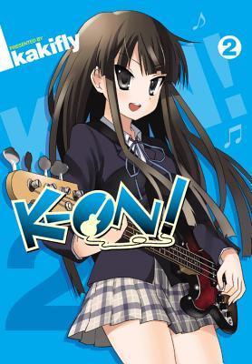 K-On!, Volume 2 Cover