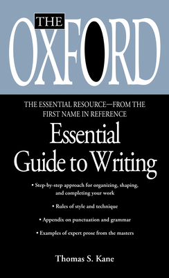 The Oxford Essential Guide to Writing Cover Image